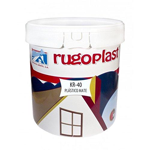 Pintura plástica blanca mate lavable de alta calidad interior / exter