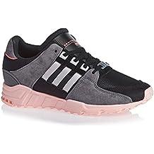 new product d953c e35fc Adidas Eqt Support Rf W Black Pink Sneakers - Scarpe Da Ginnastica Nere Rosa