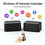 IR Remote Extender, IR Repeater Infrared Extender Infrared Extender For Expansion With 1 Receiver And Transmitter USB Power Supply Battery Operated 1080P For PC DVD Sky HD Box PS3 PS4 Satellite Box
