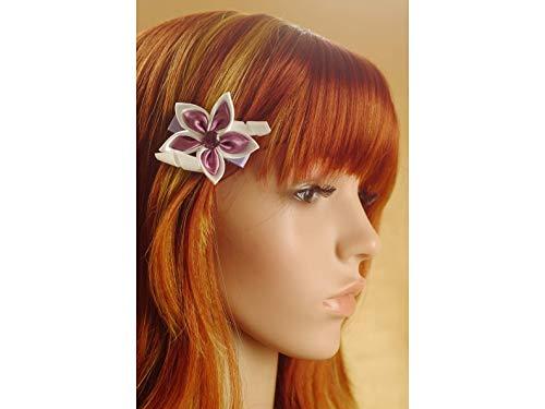 festliche Haarspange mit Stern aus Satin -