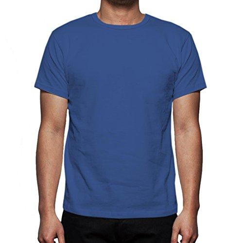 Neue Mens Gaffer Multi Pack viel reiner grundlegende Baumwolle lässig leere t-Shirt Top Royal