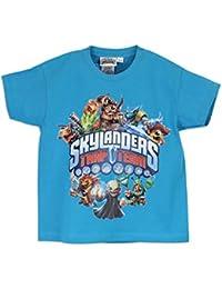 Skylanders Trap Team - T-Shirt à Manches Courtes - Garçon