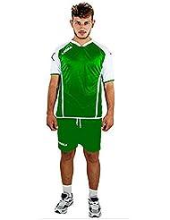 LEGEA KIT VILNIUS combinar deporte pantalones cortos VOLLEY hombre camiseta, color  - verde claro y blanco, tamaño large