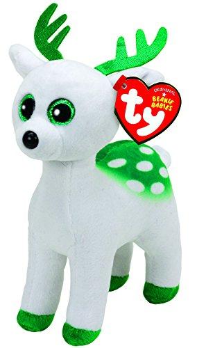 TY - Navidad Peppermint: Reno, 15 cm, color blanco (United Labels Ibérica...