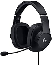 Logitech G Pro Wired Gaming Headset with Pro Grade Mic (Black)
