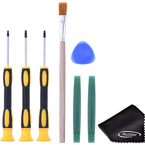 T6 T8 T10 Screwdriver Set and Opening Brush Tool with Cleaning Brush for Xbox One Xbox 360 Controller