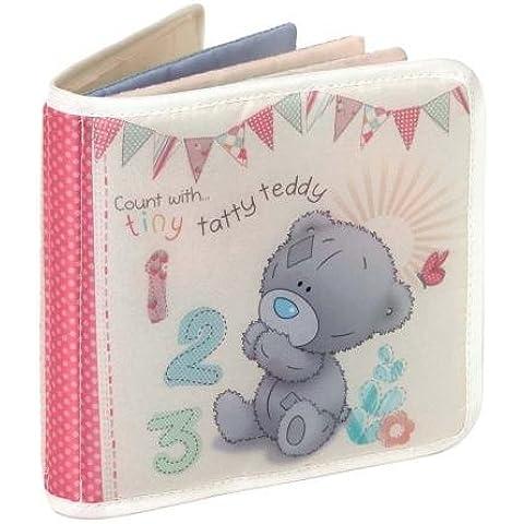 Tiny Tatty Me To You gamuza de diseño de bebé oso con tarta de tipo libro