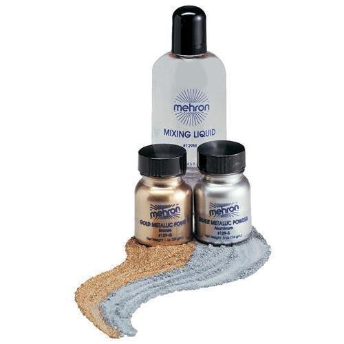 (6 Pack) mehron Metallic Powder - Gold