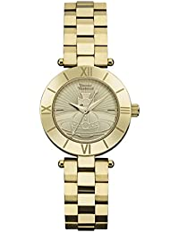 Vivienne Westwood Womens Analogue Classic Quartz Watch with Stainless Steel Strap VV092CPGD