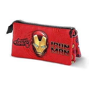 Iron Man Armour-Estuche Portatodo Triple