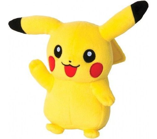 Pokemon Pikachu 8 Inch Plush Soft Toy Happy Pikachu Pose lowest price