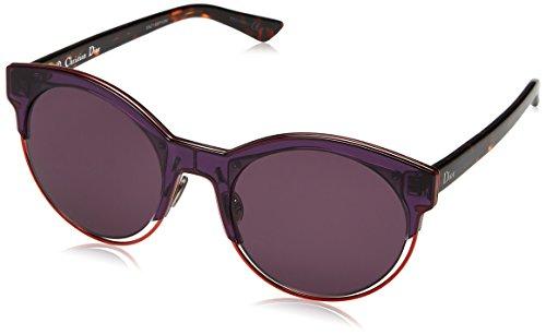5604881d93 Christian Dior DIORSIDERAL1 C6 1W3 Gafas de sol, Morado (Vltyllw  Havana/Dark Purple