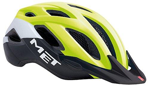 MET Fahrradhelm m3hm109m0gi2, M, gelb, Unisex