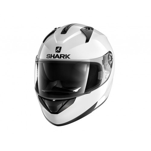 Shark casco de moto ridill, color blanco, talla S