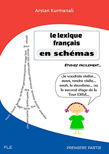 Couverture du livre Le lexique français en schémas   French Vocabulary in Charts (French edition)
