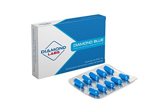 Super fuerte azul diamante. ¡Siente como 21 otra vez! Mejora natural y eficaz para los hombres. Energía, vigor y resistencia! Sin receta (paquete de 10 cápsulas).