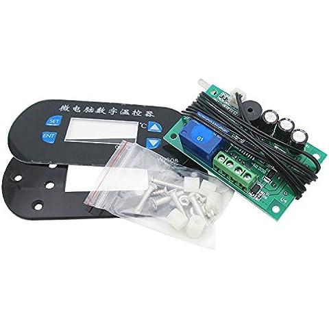 Il modulo controllore di visualizzazione del numero di temperatura interruttore centralina di raffreddamento/riscaldamento regolabile di controllo digital 0.1, modulo 220v di alimentazione / blu ray pannello e sonda
