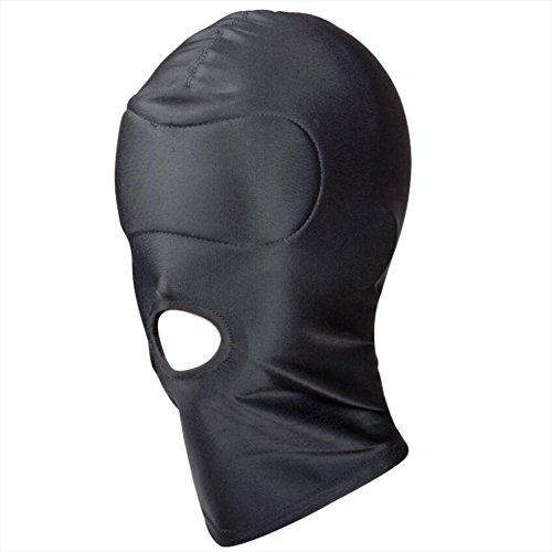 DRSMDR Hood Mask Role Playing Erwachsene Kostüm Partei Bondage Cosplay Kostüm, Mann Frau Erwachsene Sex Toys, Halloween Karneval Weihnachtsfeier Dekoration Erwachsene Kostüm Zubehör,C
