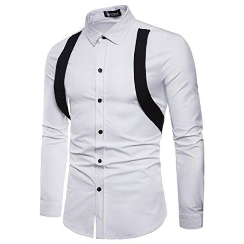 Angemessen 2018 Männer Neue Business Casual Druck Quadrat Kragen Mens Shirts Fashion Trend Marke Party Dünne Baumwolle Kurzarm Männer Hemd Herrenbekleidung & Zubehör V-ausschnitt