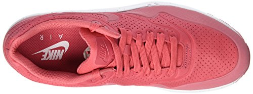 Nike Air Max 1 Ultra Moire, Chaussures de Sport Homme Rouge (Terra Red/Terra Red/White 611)