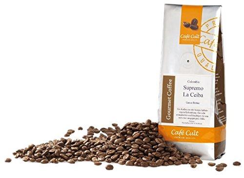 1kg - frischer Röstkaffee - Café Cult - Kolumbien - Supremo - La Ceiba - ganze Bohnen
