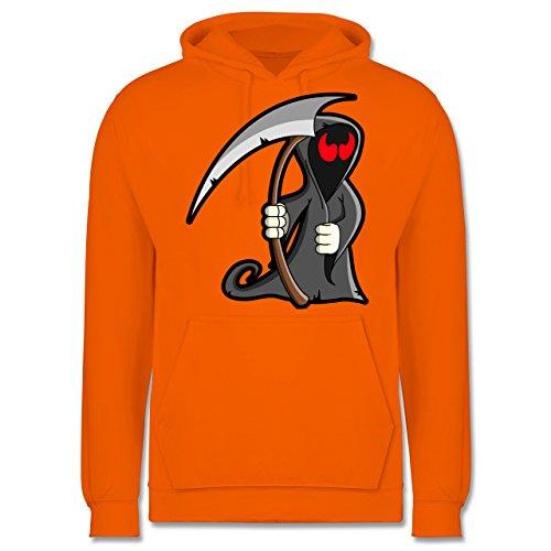 Halloween - Sensenmann - XS - Orange - JH001 - Herren - Mann Für Last-minute-halloween-kostüme Den