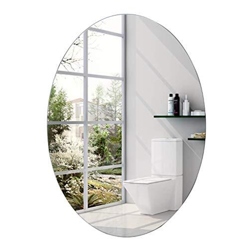 SDK Espejos vanidad montados Pared Espejo baño Ovalado