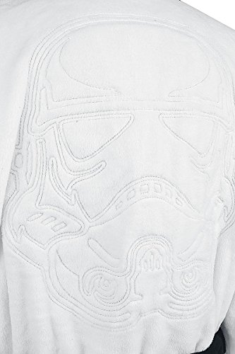 Star Wars Stormtrooper Bademantel Weiß Weiß