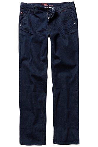 JP 1880 Herren große Größen bis 66, Chino, Denim-Hose, Jeans, Straight Fit, 5-Pocket, Gürtelschlaufen, Zipper, Baumwolle darkblue 29 714282 94-29