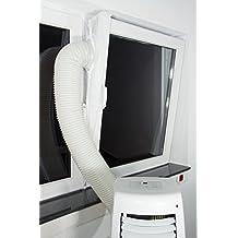 fensterabdichtung/de Lock/Cortina de aire (/de cierre para dispositivos Mobile climática, losdeshumidificadores o ablufttrockner a todos Ventana orificios en techo y pared–Hot Air Stop
