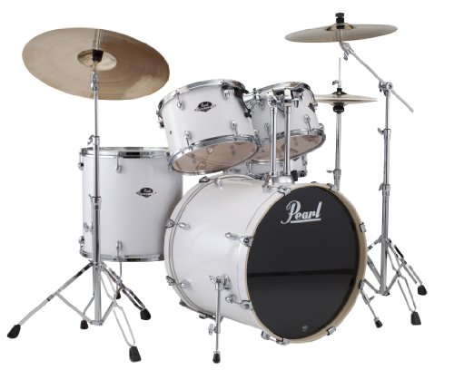 pearl-exx705-c-5-piece-export-fusion-drum-set-with-hardware-pure-white