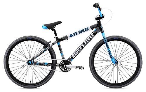 SE Bikes Blocks Flyer 26R BMX Bike 2019 Camouflage (38 cm, Camouflage)