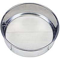 Stainless Steel Mesh Flour Sifting Sifter Sieve Strainer Cake Baking Kitchen Practical Tools