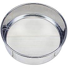 Luwu-Store - Colador de acero inoxidable para tartas y repostería, práctico utensilio de