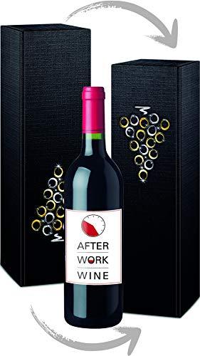 Wein als Geschenk: 1 Flasche After Work Wine, Monastrell & Tempranillo Rotwein, Spanien, 0,75 l