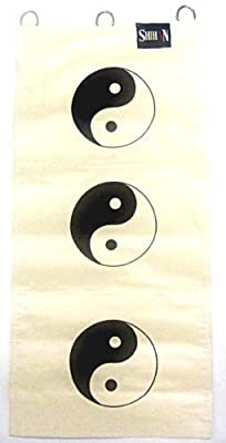 Kung Fu Wall Striking Bag Canvas YING-YANG 3 SECTIONS produced by SHIHAN - quick delivery from UK.