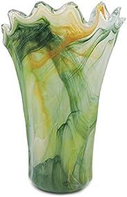 Tammaro Home Vaso in Vetro di Murano Verde Modello Milord by