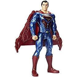 Justice League - Figura Superman con luces y sonidos, 30 cm (Mattel FGH13)