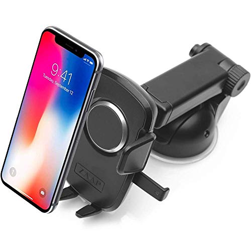 Zaap Quick Touch One 360 Adjustable 3-in-1 Car Mount Holder for All Smartphones (Pro Series, Black) Amazon Rs. 1599.00