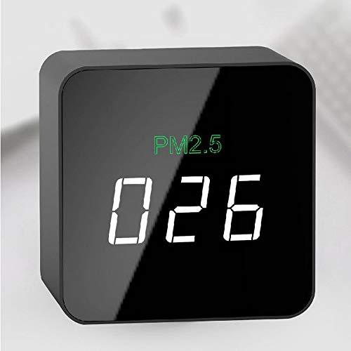 tsmonitor PM2.5 Rauchmelder mit farbigem LCD-Bildschirm, intelligentes Multifunktionssystem ()