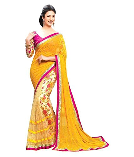 Designer saree Party wear sarees wedding sari bridal cotton silk Best Bollywood embroidered lahenga work printed sarees Blouse Multi-Coloured Print Latest Offers Sale cocktail , traditional , causal , Indo-Western , Fusion crepe Velvet & Net Georgette saris Below price With to Design sari buy online in Low Price Sale . . . . H0I-238  available at amazon for Rs.799