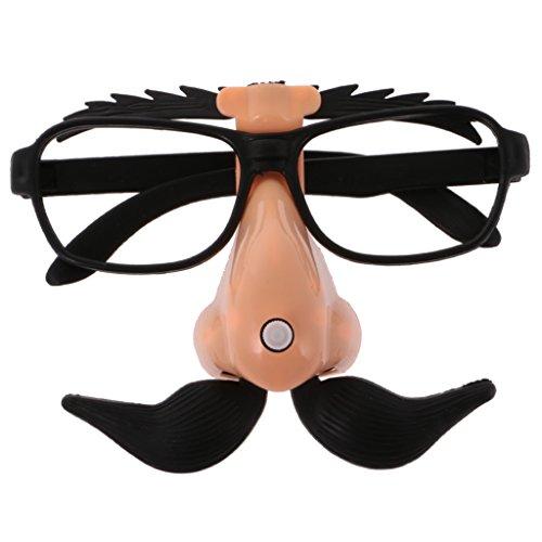 sharplace Neuheit Disguise Schnurrbart Sonnenbrille Fancy Dress Kostüm für Erwachsene Kinder