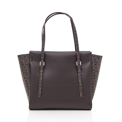 Calvin Klein Marissa Damen Handtasche Schwarz Brown
