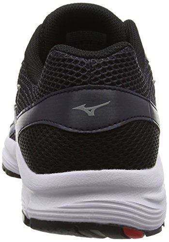 Mizuno Spark, Chaussures de Running Compétition Homme Gris - Grey (Periscope/Silver/High Risk Red)