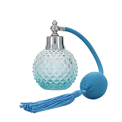 100 ml nachfüllbare Parfümzerstäuber-Sprühflasche Vintage Empty Perfume Atomizer für Parfüms, ätherische Öle -