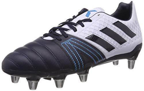 adidas Herren Kakari Elite (sg) Rugbyschuhe, Blau (Aero Blue S18/Legend Ink/Shock Cyan), 43 1/3 EU(9UK)