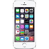 Apple iPhone 5S Plata 16GB Smartphone Libre (Reacondicionado Certificado)