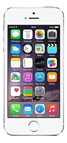 Apple iPhone 5S Argent 16Go Smartphone Débloqué (Reconditionné