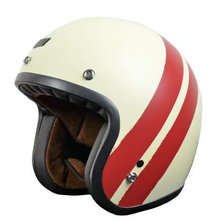 ORIGINE Casco Jet Primo Jack (M, Red - White (Matt))