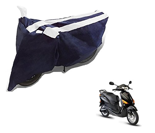 Auto Hub Bike Body Cover For Hero Electric Optima - Black White  available at amazon for Rs.275